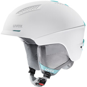 UVEX Ultra Casco, white/mint mat